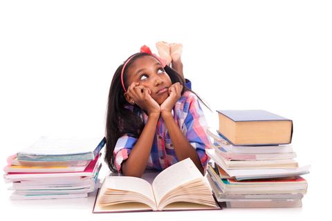 Pupil studing