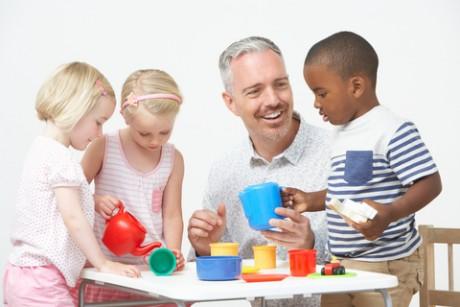Learners and teacher