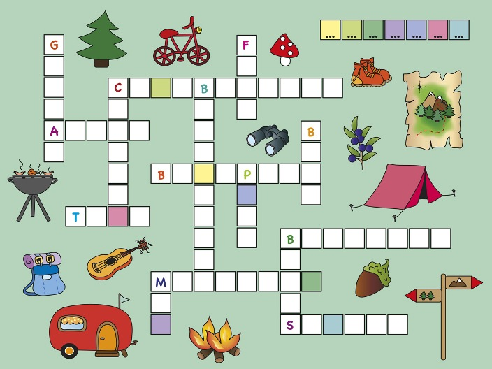 Crossword Puzzle: Camping