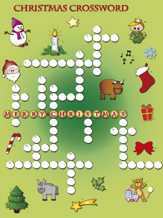 Crossword Puzzle: Christmas 1