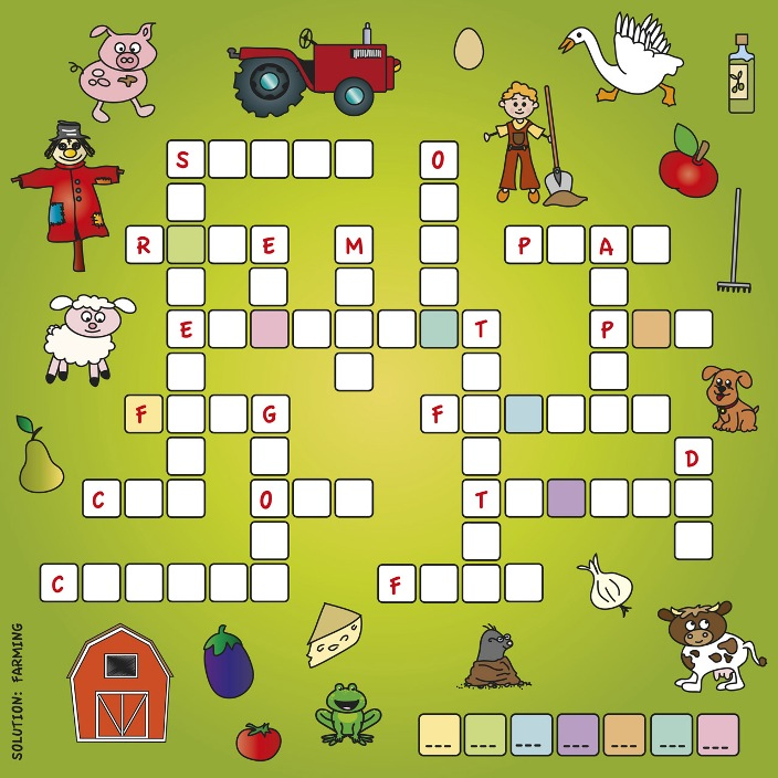 Crossword Puzzle: Farming
