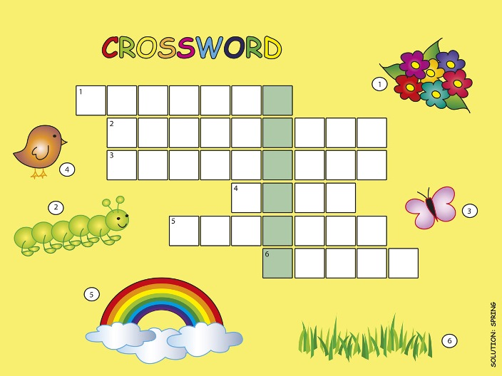 Crossword Puzzle: Spring