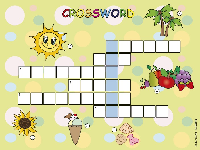 Crossword Puzzle: Summer