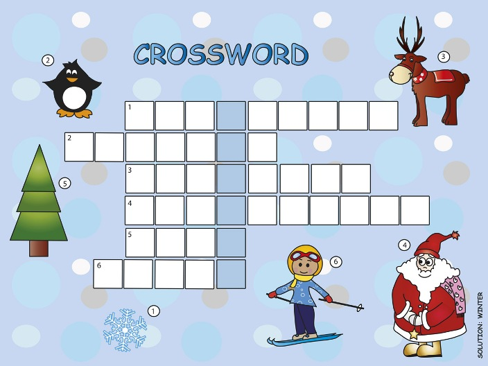 Crossword Puzzle: Winter