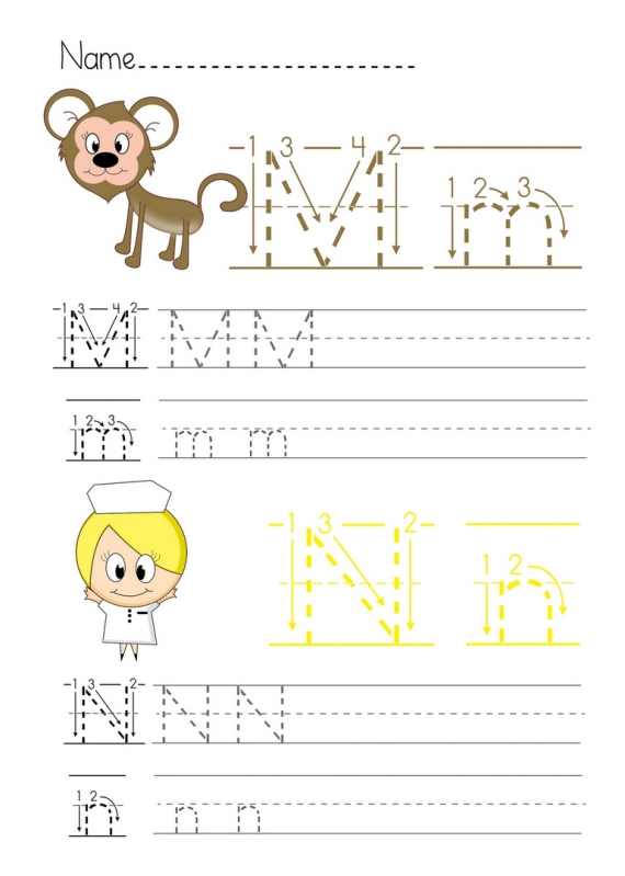 Printable Alphabet Worksheets. Printable Alphabet Worksheet Kl Mn. Printable. Alphabet Printables Worksheets At Mspartners.co