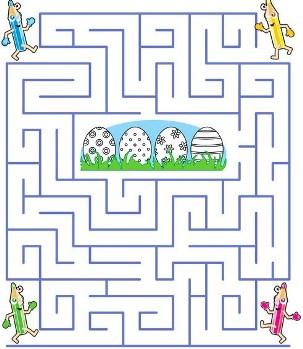 printable maze games for kids