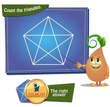 Count the triangles 1