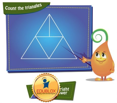 Count the triangles 9